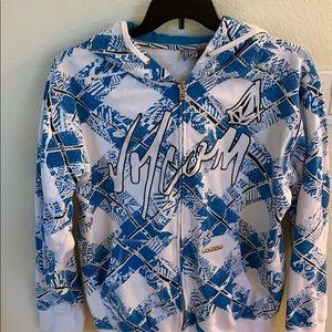 Volcom zip up sweat jacket
